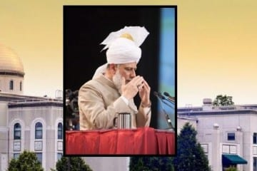 Ahmadiyya Islam's Khalifa to Head 64th Annual U.S. Convention. Photo Courtesy: Hamid Khan