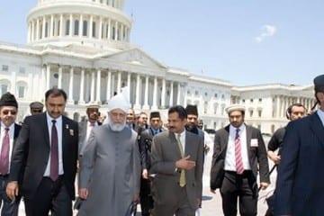 Khalifa Of Islam Capitol Hill Credit: Rabwah.Net
