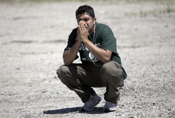 Sikh Temple Shooting, photo courtesy: Washington Post