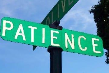 patience - prophet