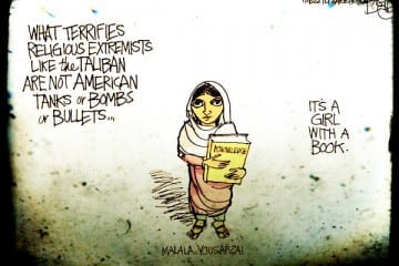 malala cartoon