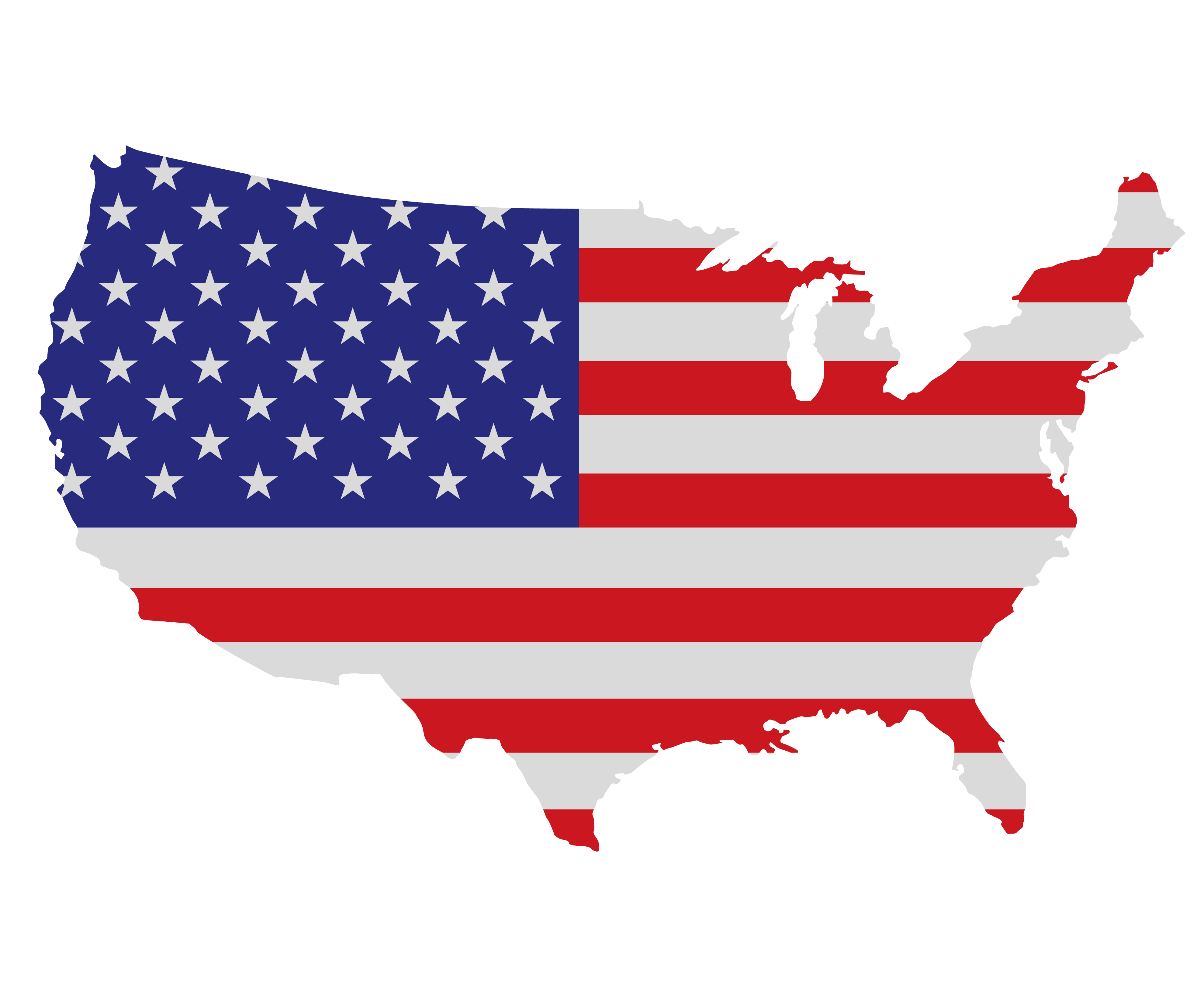 Show Your Patriotism On The Fourth Of July  Muslim Writers Guild - Show map of united states
