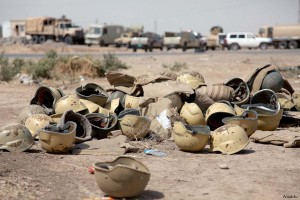 iraqi-military-armour-helmet-equipment-left-during-retreat-from-mosul-isis